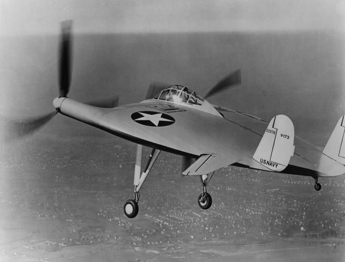 Проекты V-173 и XFU5-1 были созданы для армии.