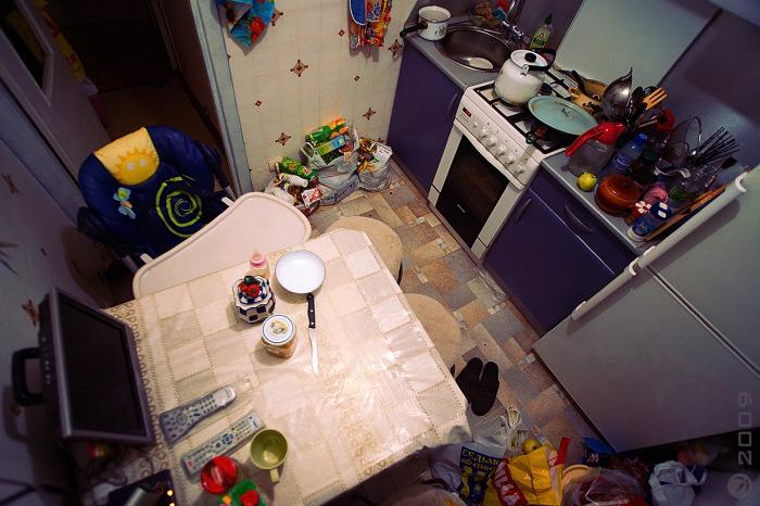 Не забывайте протирать стол после трапезы. /Фото: arh.en.cx.