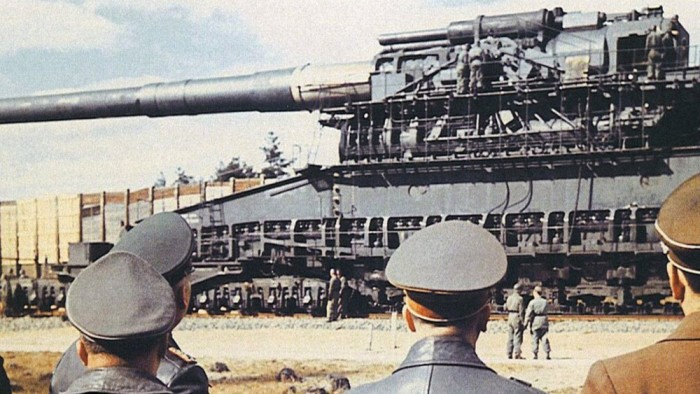 Пушку показали первым лицам государства. /Фото: yandex.uz.