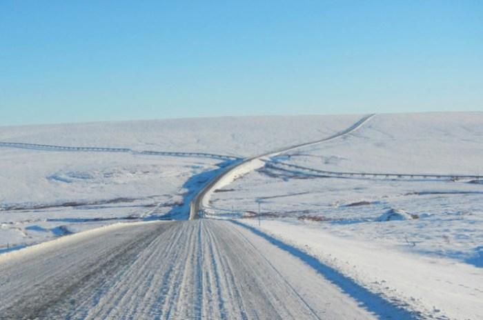 Одна из самых опасных дорог.