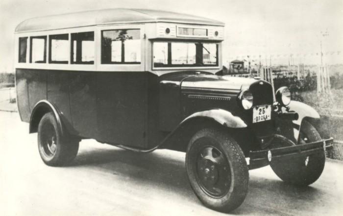 ГАЗ-03-30 - Один из первых массовых советских автобусов.