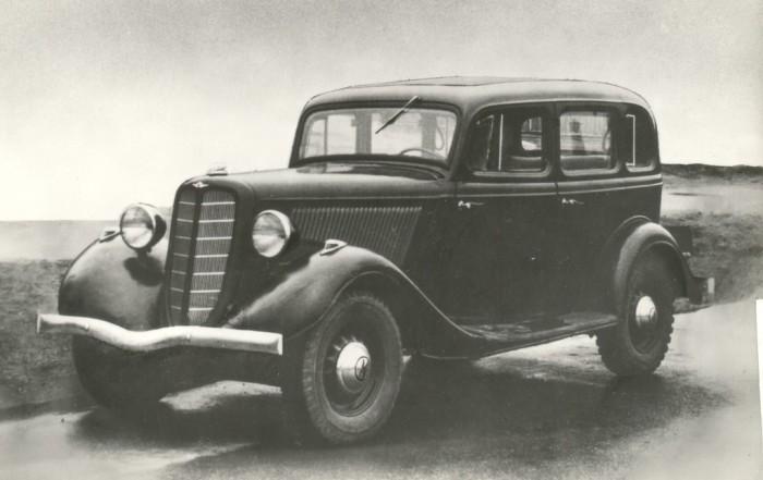 Легендарная модель ГАЗ-М1.