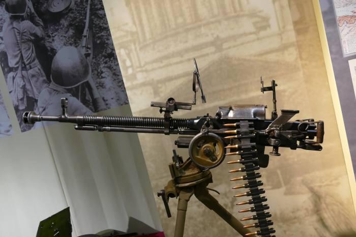 Пулемет против самолетов. /Фото: yablor.ru.