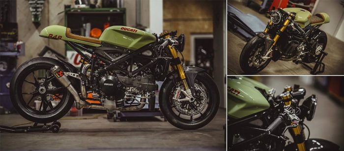 Великолепный Ducati 848 Evo Racer от NCT Motorcycles.