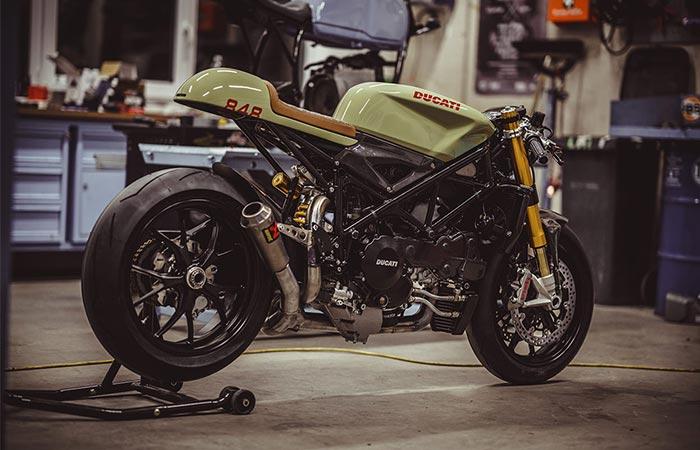 Ducati 848 Evo Racer от NCT Motorcycles - прекрасный образчик кастомизации.