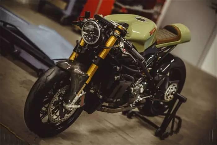 Ducati 848 Evo Racer от NCT Motorcycles во всей красе.