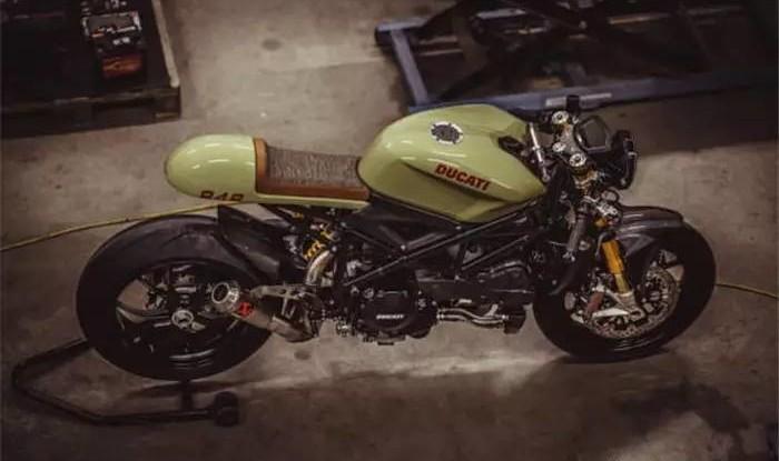 Кастом-байк Ducati 848 Evo Racer от NCT Motorcycles
