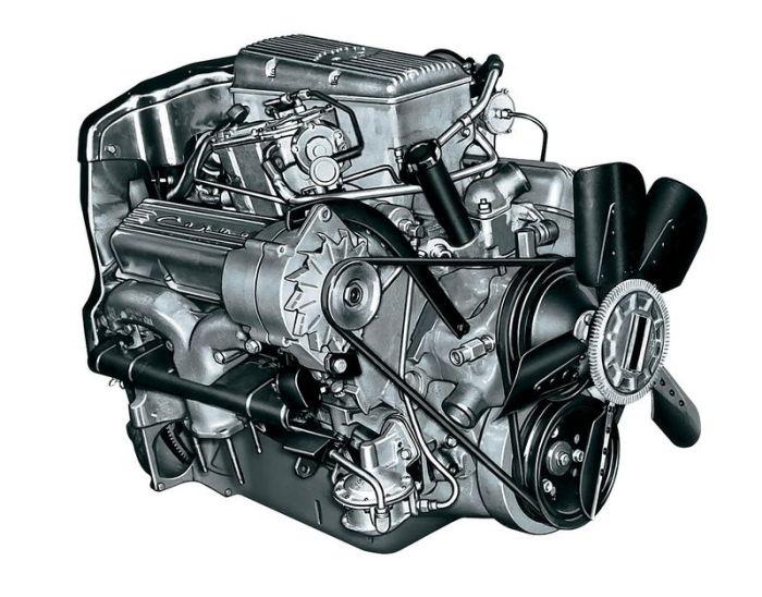 Двигатель который стал легендой уже при жизни.