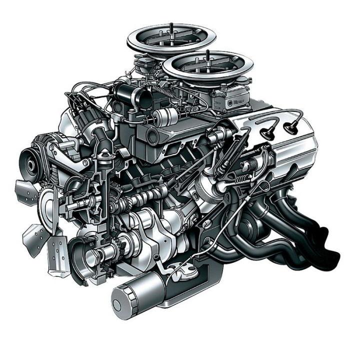 Лучший гоночный двигатель всех времен.