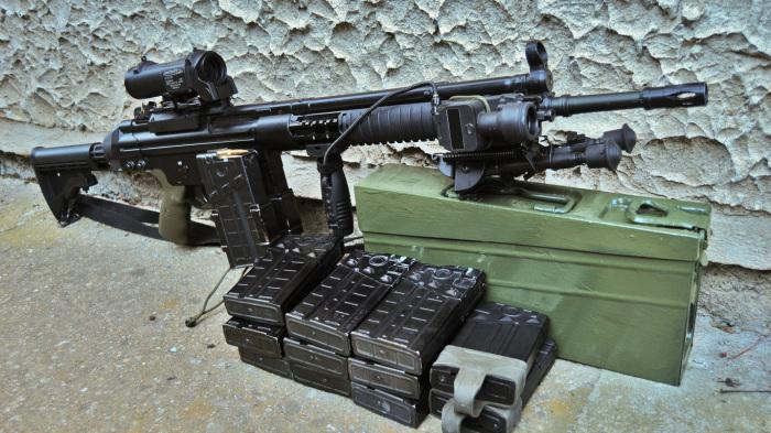 Основная винтовка Турции. /Фото: goodfon.ru.