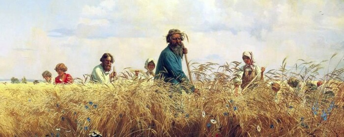 Утомительная работа в полях под солнцем не проходила бесследно. /Фото: fb.ru.
