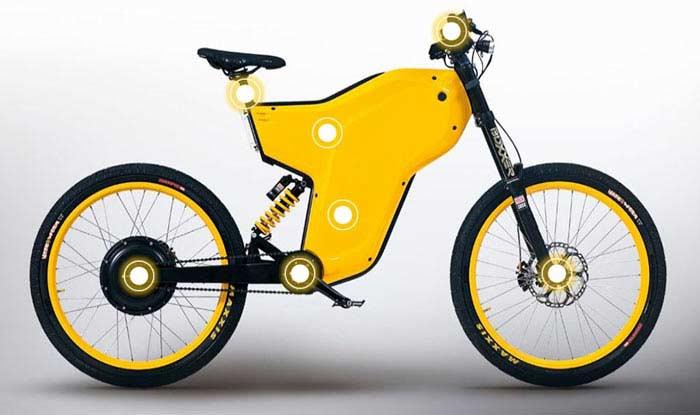 Желтый и выносливый Greyp G12H.