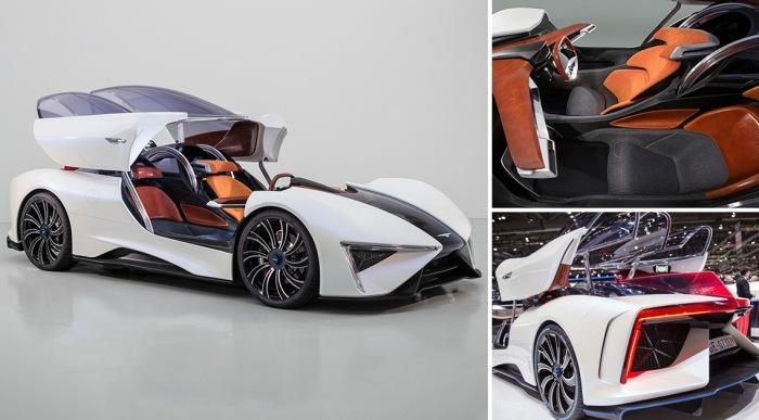 Cамые неожиданные суперкары Женевского автосалона 2017 года.