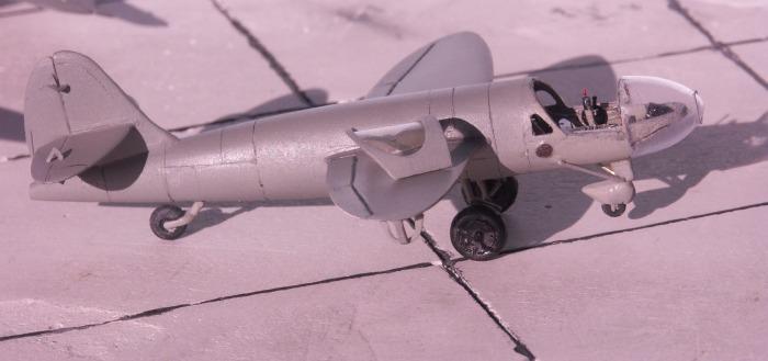 Вот он, первый реактивный самолет в истории -  He.176.