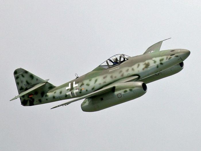 Немецкий Me.262 стал первым серийным.