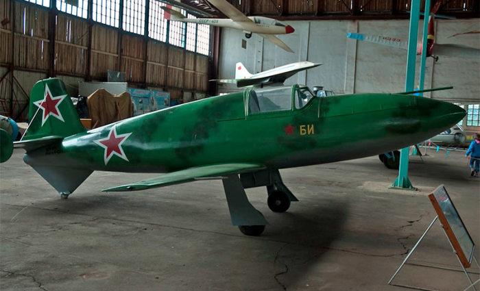 Дедушка советской реактивной авиации БИ-1.