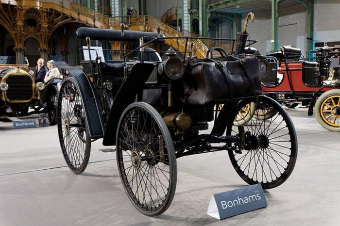 Peugeot Type 3, выставленный в Grand Palais.