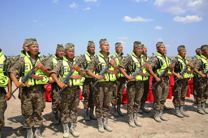 Морская пехота Монголии. /Фото: maxpark.com.