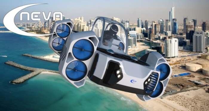 Летающий квадроцикл, который заменит городской и личный наземный транспорт.