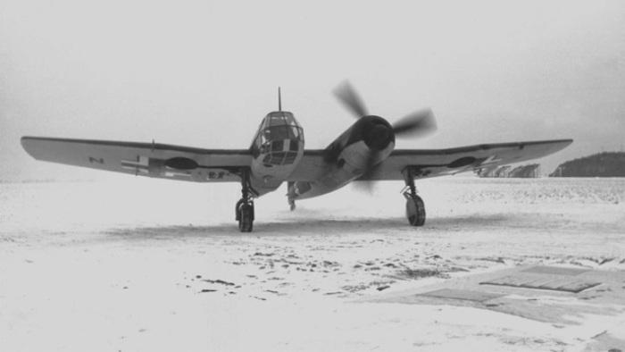 Разведывательный самолет рейха Blohm & Voss BV 141.