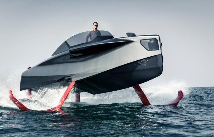 Невероятная яхта-трансформер.