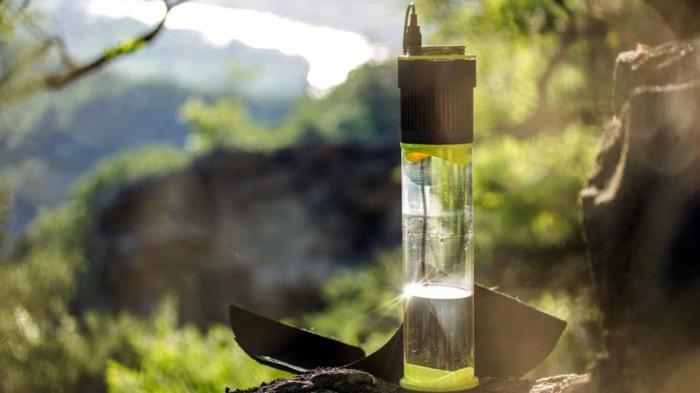 Самонаполняющаяся бутылка Fontus Airo