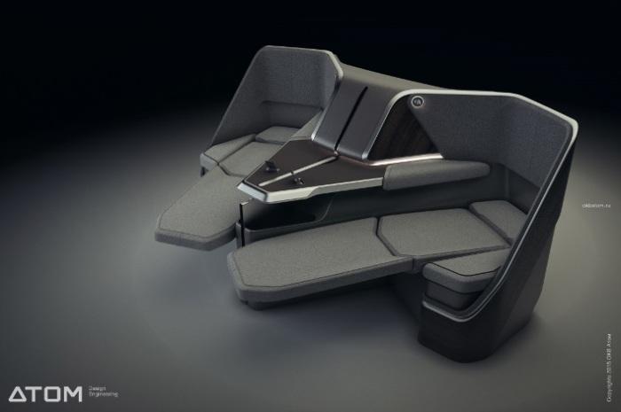 Почти, как дома на диване.