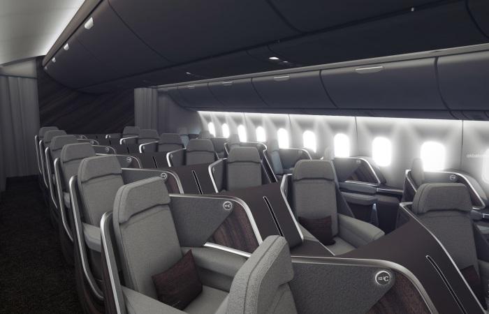 Отечественные дизайнеры показали самолет будущего.