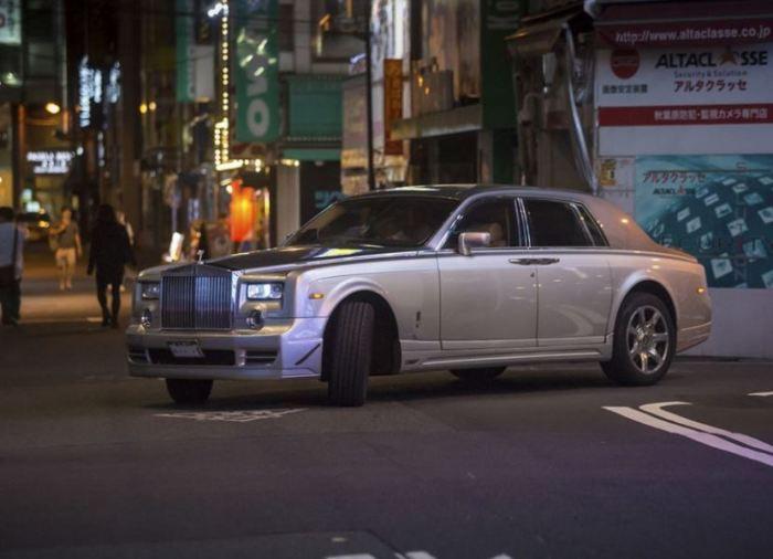 Rolls-Royce японцы все видят по-своему.