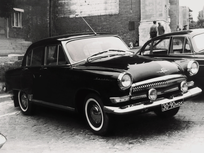 Машина для разведки СССР.