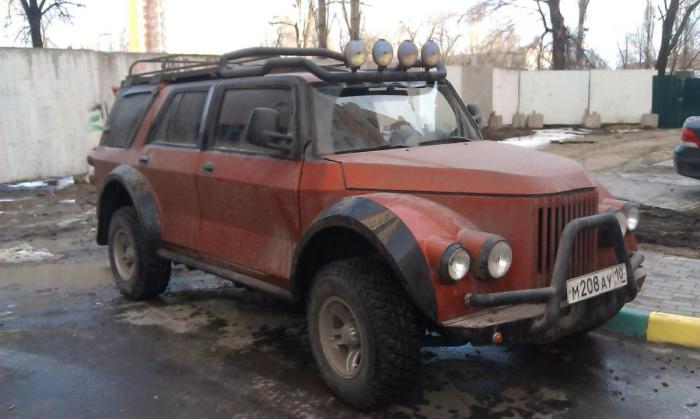 ГАЗ-69А стал чем-то совсем новым.