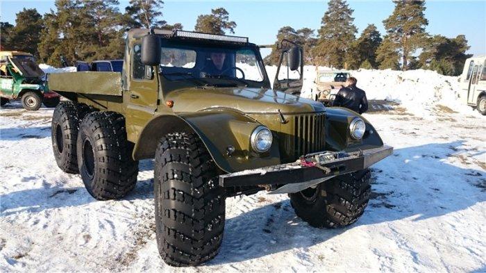 ГАЗ-69 пользуется большой популярностью.