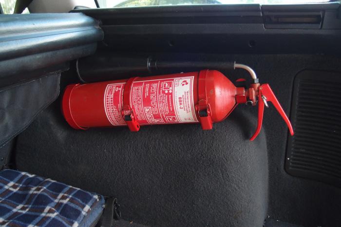 Лучше всего держать его в багажнике. /Фото: drive2.com.