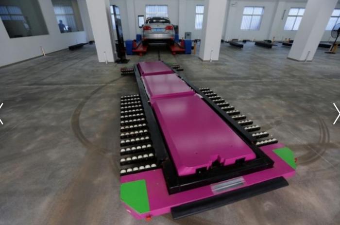 Робот Geta И никаких проблем с парковкой.