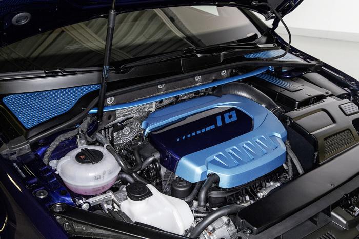 Гибридный двигатель.