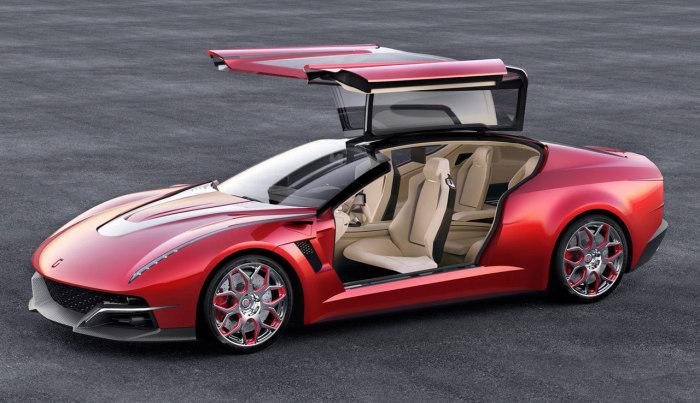 Cпортивный автомобиль Italdesing Giugiar.