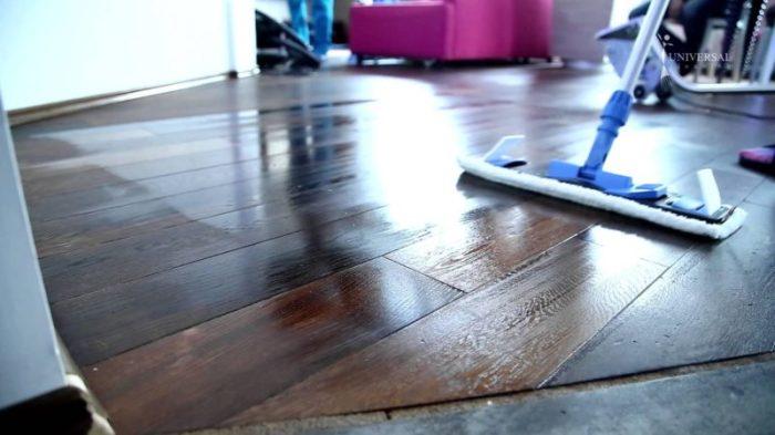 Даже пол с ним можно мыть. /Фото: samodelkino.info.