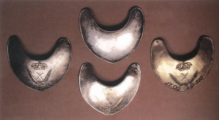 При Фридрихе Великом горжет стал элементом парадной формы и знаком отличия. / Фото: ok.ru.