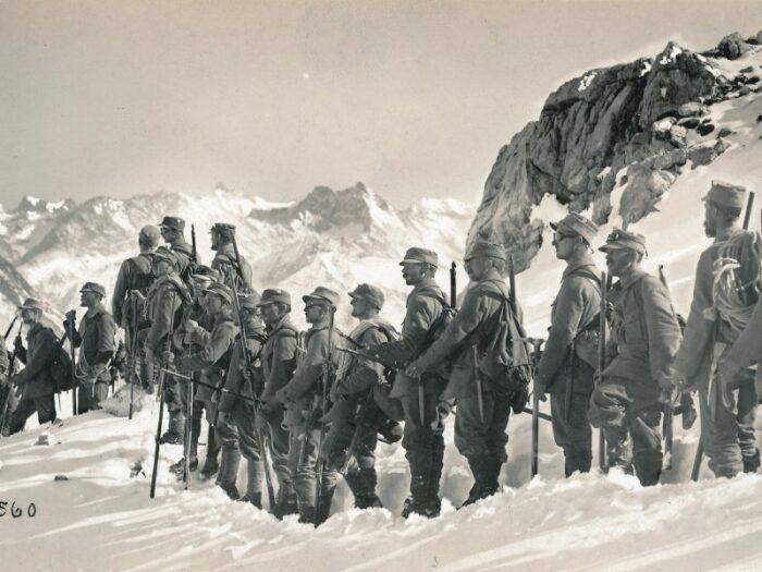 Горные егеря стали появляться еще до Первой мировой войны. /Фото: Twitter.