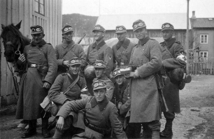 Иногда егерей отправляли и на равнину. /Фото: waralbum.ru.