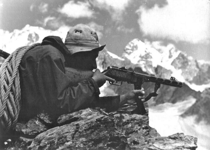 Свои горные стрелки были и в СССР. /Фото: livinghistory.ru.