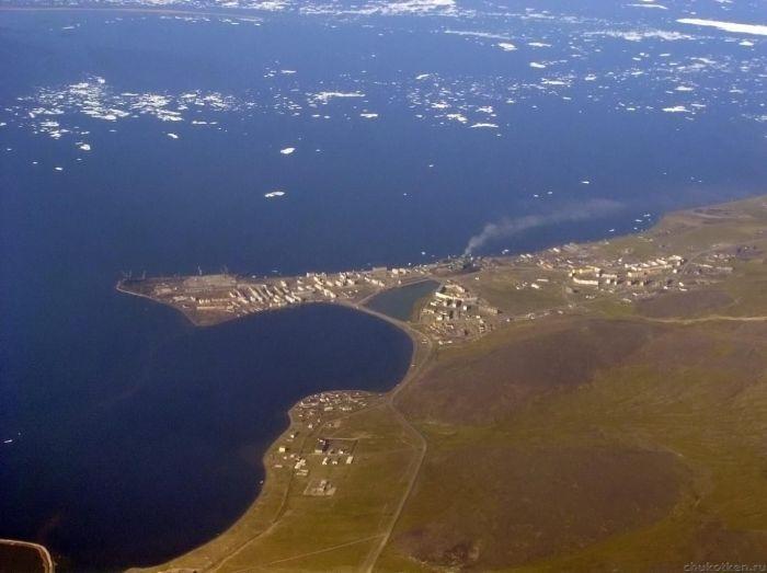 Певек - самый северный город необъятной Родины.