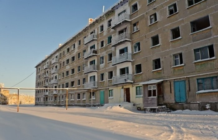 Как много по стране брошенных советских городов.
