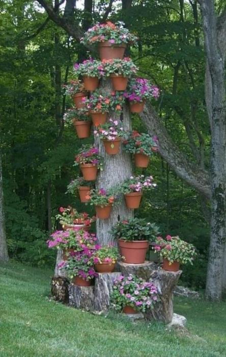Старый столб не должен быть уродливым.