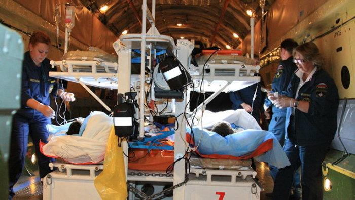 Под обозначениями 300 и 400 перевозят раненных людей. /Фото: profi-news.ru.