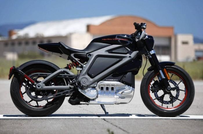 Тот самый концепт от Harley-Davidson.