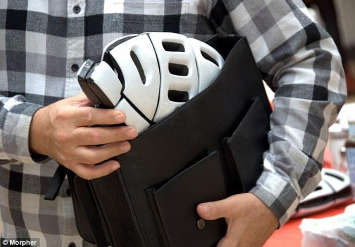 Складывающийся шлем Morpher.