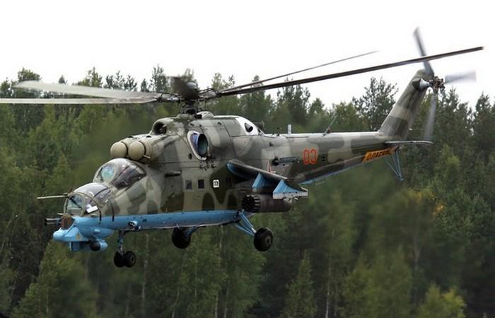 Вертолет Ми-24 «Лань».
