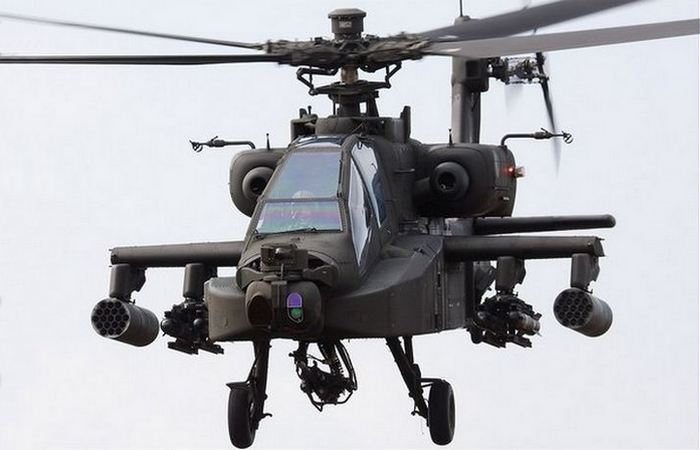 Вертолет Boeing AH-64D «Longbow Apache».
