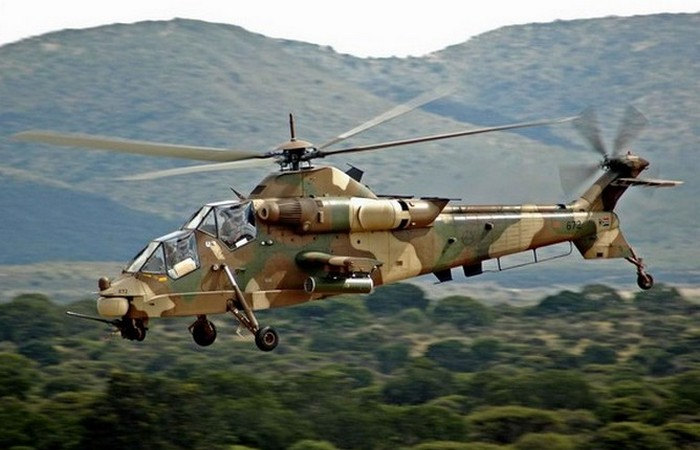 Вертолет Denel AH-2 «Rooivalk». ЮАР.